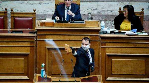 Plexiglass houses: Parliaments adapt to the coronavirus age