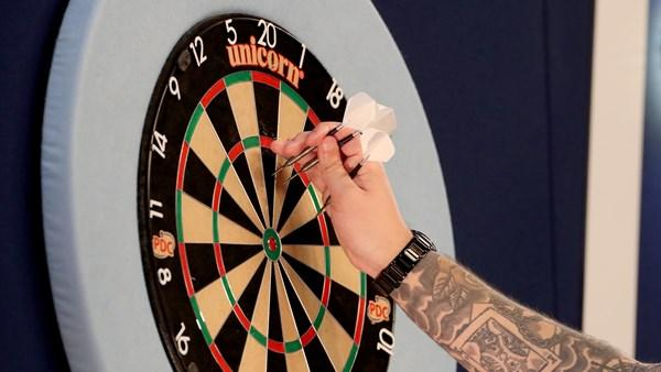 Carl Wilkinson produces stunning darts to win Group 13 of PDC Home Tour