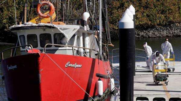 Seized trawler had Australia's largest cocaine haul on board