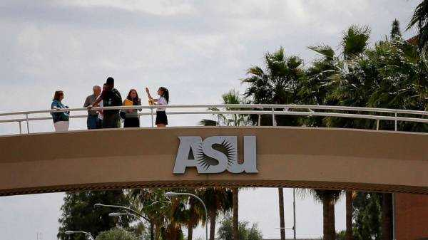 ASU staff, students protest return to school