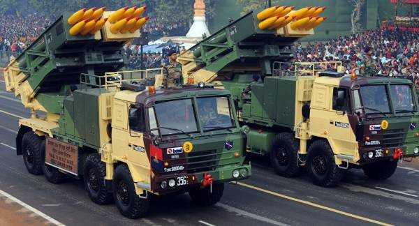 India Orders Six Multi-Barrel Guided Launchers to Deploy Along China Border
