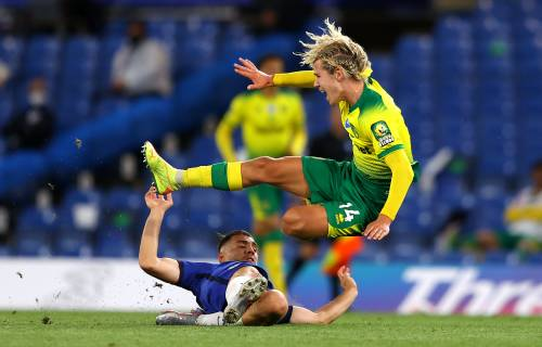 Leeds make bid for Norwich playmaker Todd Cantwell