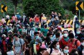 Psaki Pressed by Republican Senator Over Migrant Caravan's Future as Travel Limits Remain in Force