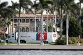 Large Moving Trucks Spotted at Mar-a-Lago as Trump Set to Release Farewell Message Before Departure