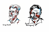 Hemingway and Orwell: Masters of English Prose