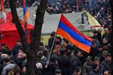 People Take to Yerevan's Streets to Protest Against Prime Minister Pashinyan