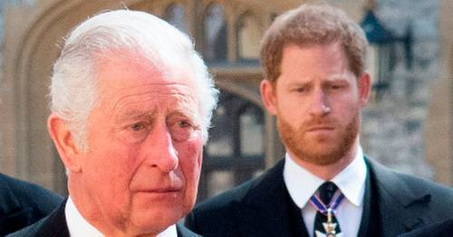 Prince Harry's 'deeply personal' note to 'very hurt' Charles before Philip funeral