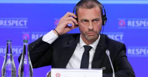 UEFA president keen to ban breakaway Super League clubs 'as soon as possible'