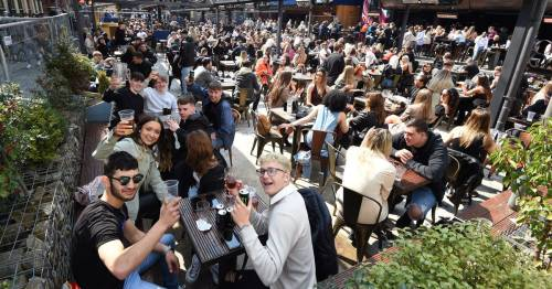 Brits hit the pub as drinkers down six million pints on first Saturday of lockdown easing