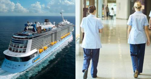NHS and Emergency Services staff can now register for Royal Caribbean's free cruises