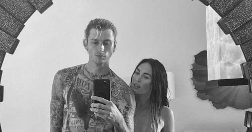 Megan Fox and Machine Gun Kelly mark one-year anniversary with gushing messages