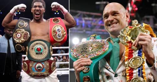 Anthony Joshua vs Tyson Fury still on track for August despite latest delay
