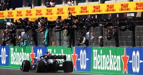 Lewis Hamilton wins Portuguese Grand Prix ahead of F1 title rival Max Verstappen
