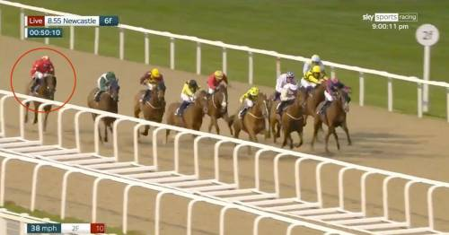 Watch Oisin Murphy's sensational ride to get horse from last to first at Newcastle
