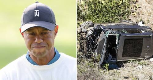 Tiger Woods breaks silence in first interview since horrific car crash in February