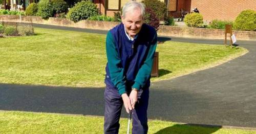 Golfer hits hole-in-one at 82 after major heart surgery and says 'I didn't believe it'