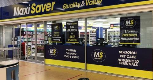 New Poundstretcher rival MaxiSaver to open 20 stores this year – creating 200 jobs
