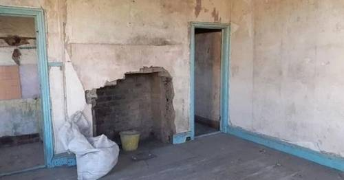 'Unliveable' council house with holes in floor and no water on market for £15,000