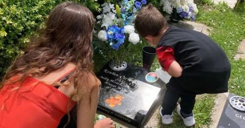 Grieving mum left heartbroken after birds destroy baby's grave for second time