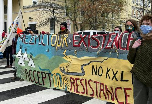 The Keystone XL pipeline is dead. But the fight against similar projects is far from over.