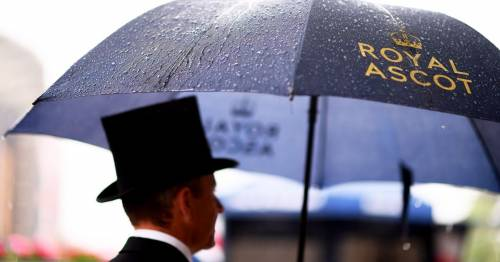 Royal Ascot inspection with racing under threat after torrential rain hits the track