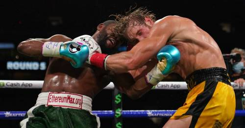 Logan Paul issues angry response to claim he was knocked out by Floyd Mayweather
