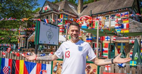 Footy-loving landlord boasts of 'best decorated pub' in UK ahead of Euro 2020