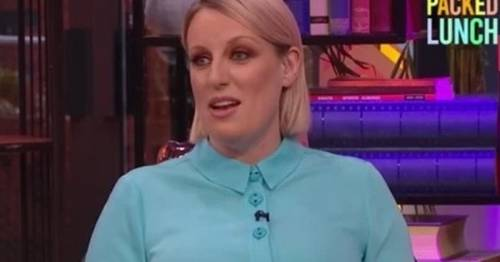 Steph McGovern jokes she's glad she's not working at the BBC anymore