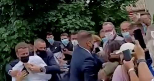Man who slapped Emmanuel Macron appears in court and could be fined up to £39,000 – World News