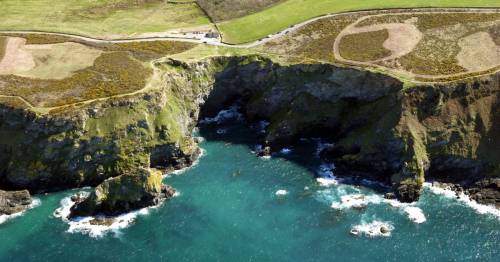 Dead body found by cliffs near G7 summit with police investigating 'unexplained' death