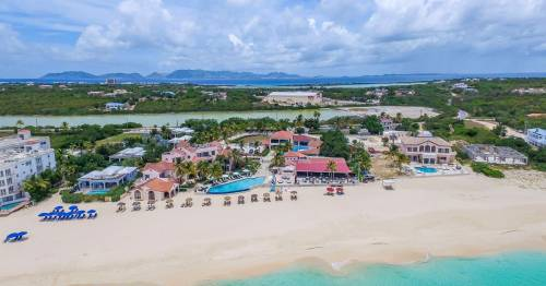 Anguilla's resort bubbles allow tourists in quarantine to hit the beach and eat out
