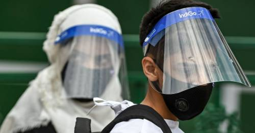 Plastic face shields provide 'little or no Covid protection' compared to masks, study finds