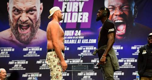 Eye-watering ticket prices for Tyson Fury v Deontay Wilder 3 with cheapest entry over $500
