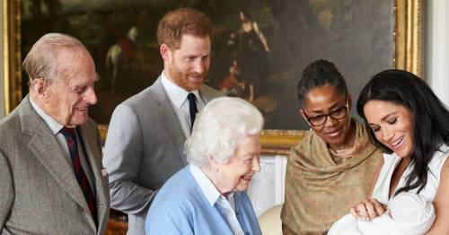 The three signs Meghan and Harry want to heal royal rift as they name baby Lilibet Diana