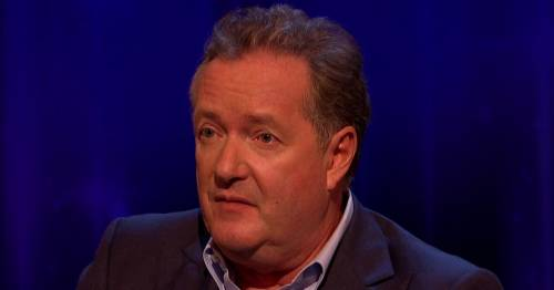 Piers Morgan warns blubbing Dan Walker he wants Louise Minchin's BBC Breakfast job