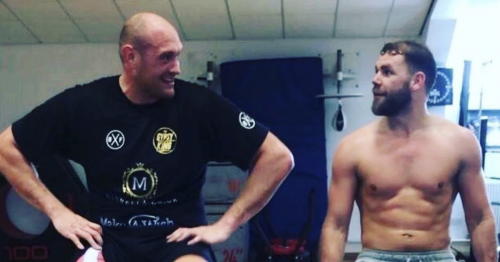 Billy Joe Saunders urged to return to the ring by Tyson Fury despite retirement talks