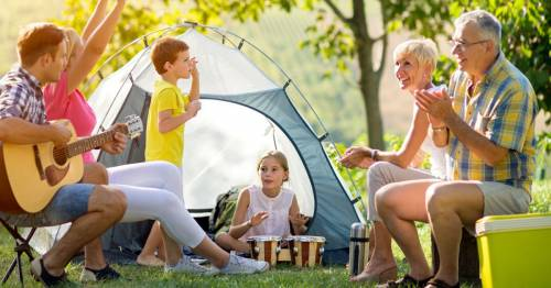 Eco-friendly camping tips including the best place to pitch a tent and useful tools