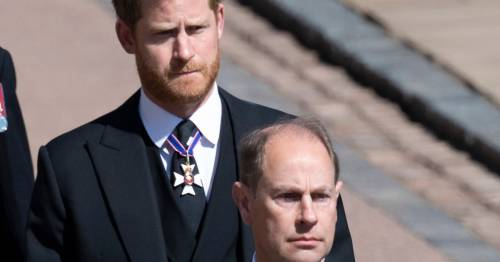 Prince Edward says Harry and Meghan row 'difficult' but 'that's families for you'