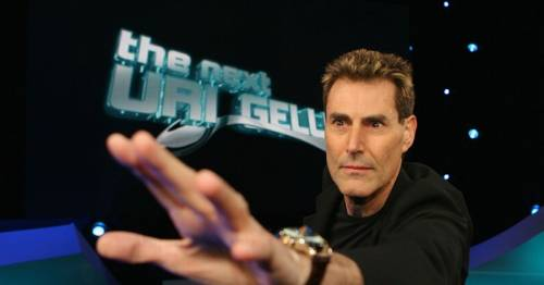 Uri Geller's infamous Euro 96 stunt as he claimed to move ball to seal England's win