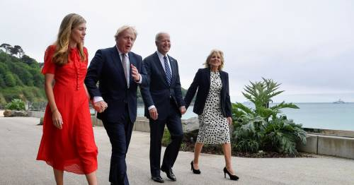Boris Johnson and Carrie to host Glasto-style beach barbecue for G7 leaders