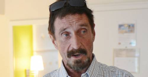 John McAfee's Instagram shares mysterious post minutes after death announced - World News