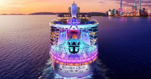 World's biggest cruise ship to sail in 2022 and it has a water park and zip line