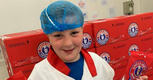 Boy, 10, bags dream job of sweet factory's chief taster as bosses 'bowled over' by ideas