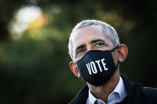 Barack Obama sounds the alarm about America's democratic erosion