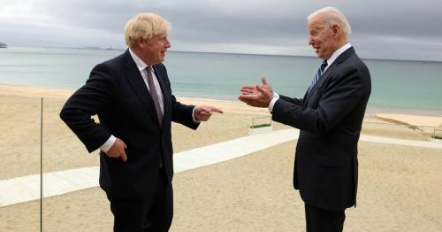 Boris Johnson hails Biden as 'breath of fresh air' and downplays Northern Ireland tensions