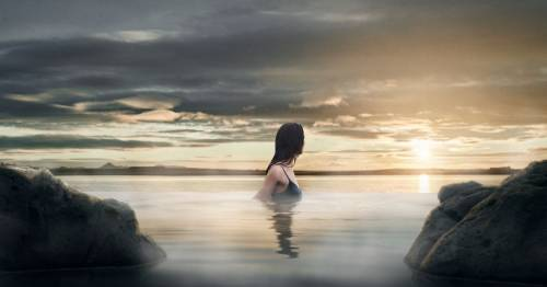 Iceland opens 'Sky Lagoon' with huge infinity pool by the ocean and a dreamy spa