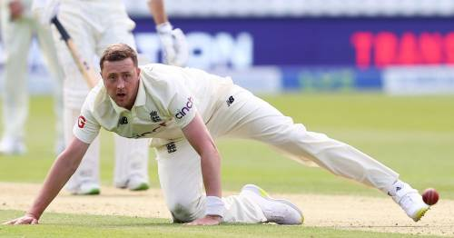 England name Ollie Robinson replacement for second Test vs New Zealand