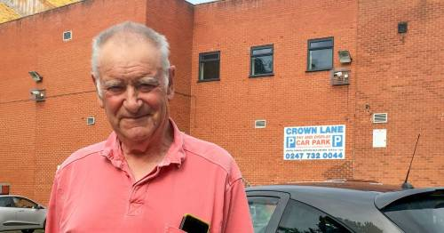 Granddad 'devastated' after being hit with a £272.55 fine over a 50p parking debt