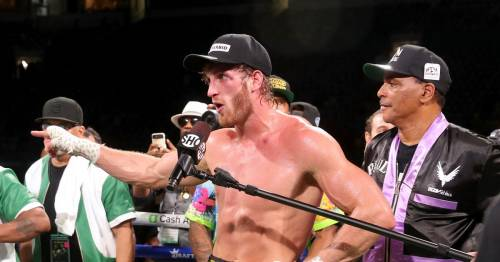 Logan Paul shows off lack of injuries sustained in Floyd Mayweather fight