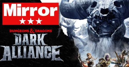 Dungeons & Dragons Dark Alliance Review: A fun role-playing hack and slash held back true greatness